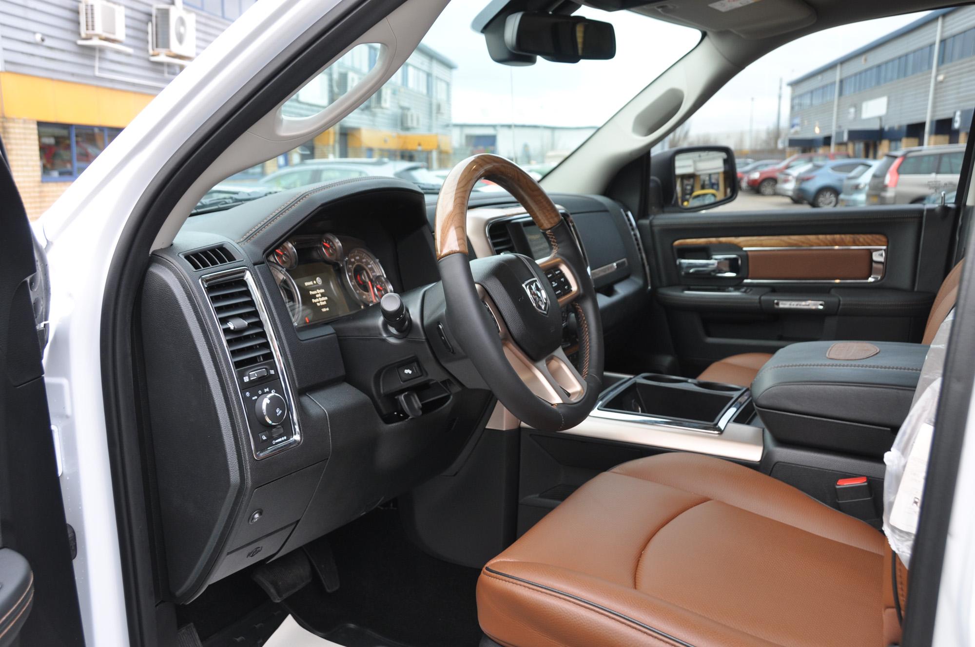 Dodge Ram Longhorn Interior