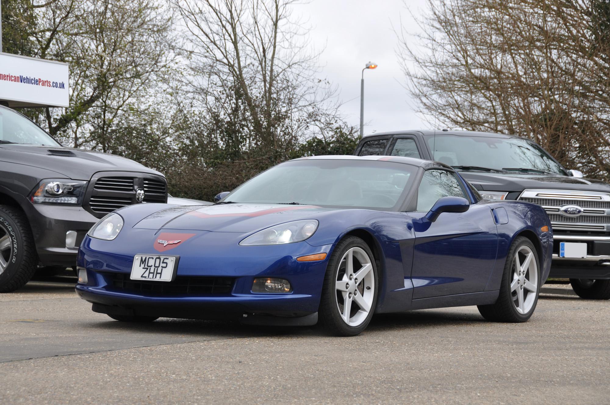 C6 Corvette Blue