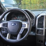 F-150 Platinum Steering Wheel