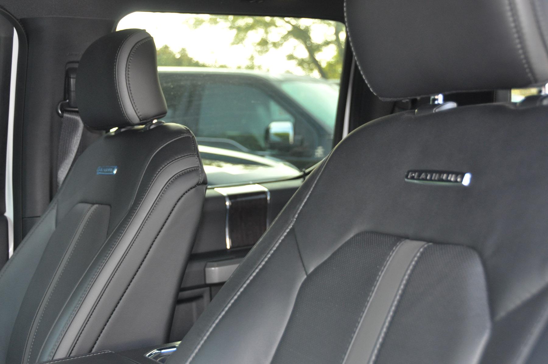 F-150 Seats Platinum