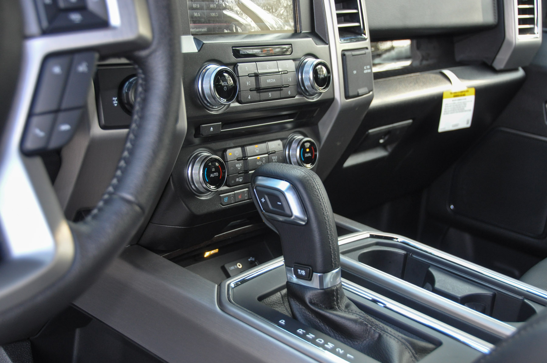F-150 Interior Front