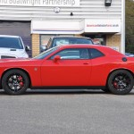 Challenger Hellcat Tor red Side View