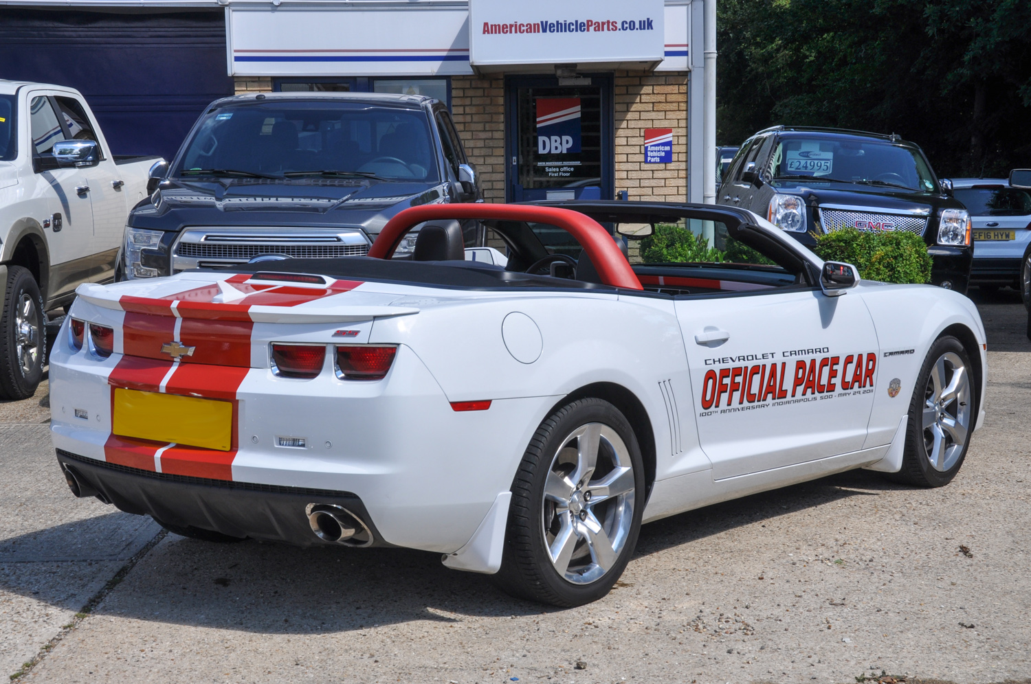 Chevrolet Camaro Pace Car Convertible Indy 500 Limited