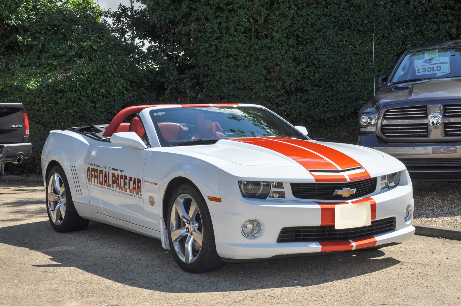 chevrolet camaro pace car convertible indy 500 limited edition 2011 david boatwright. Black Bedroom Furniture Sets. Home Design Ideas