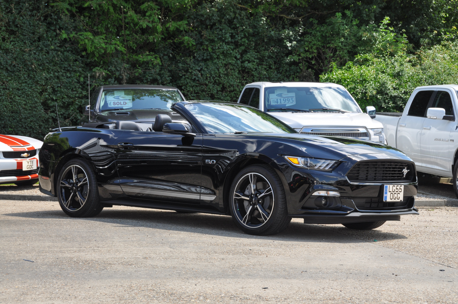 2016 Ford Mustang GT California Special
