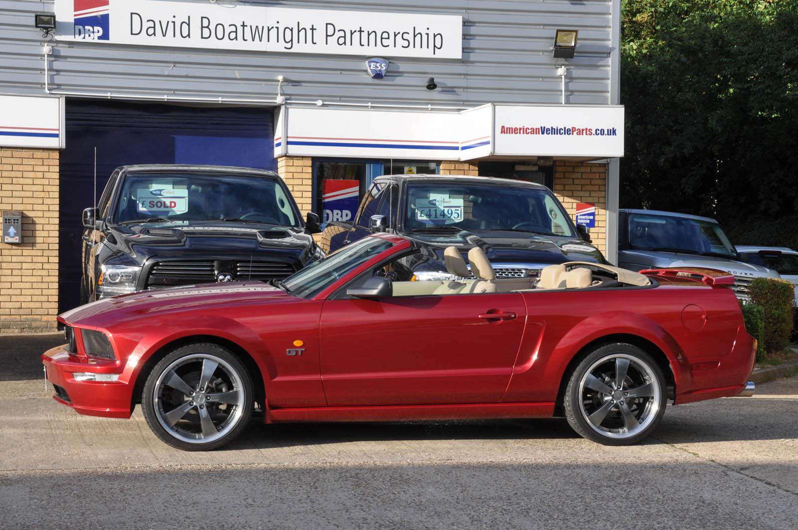 Mustang Convertible V8 Automatic