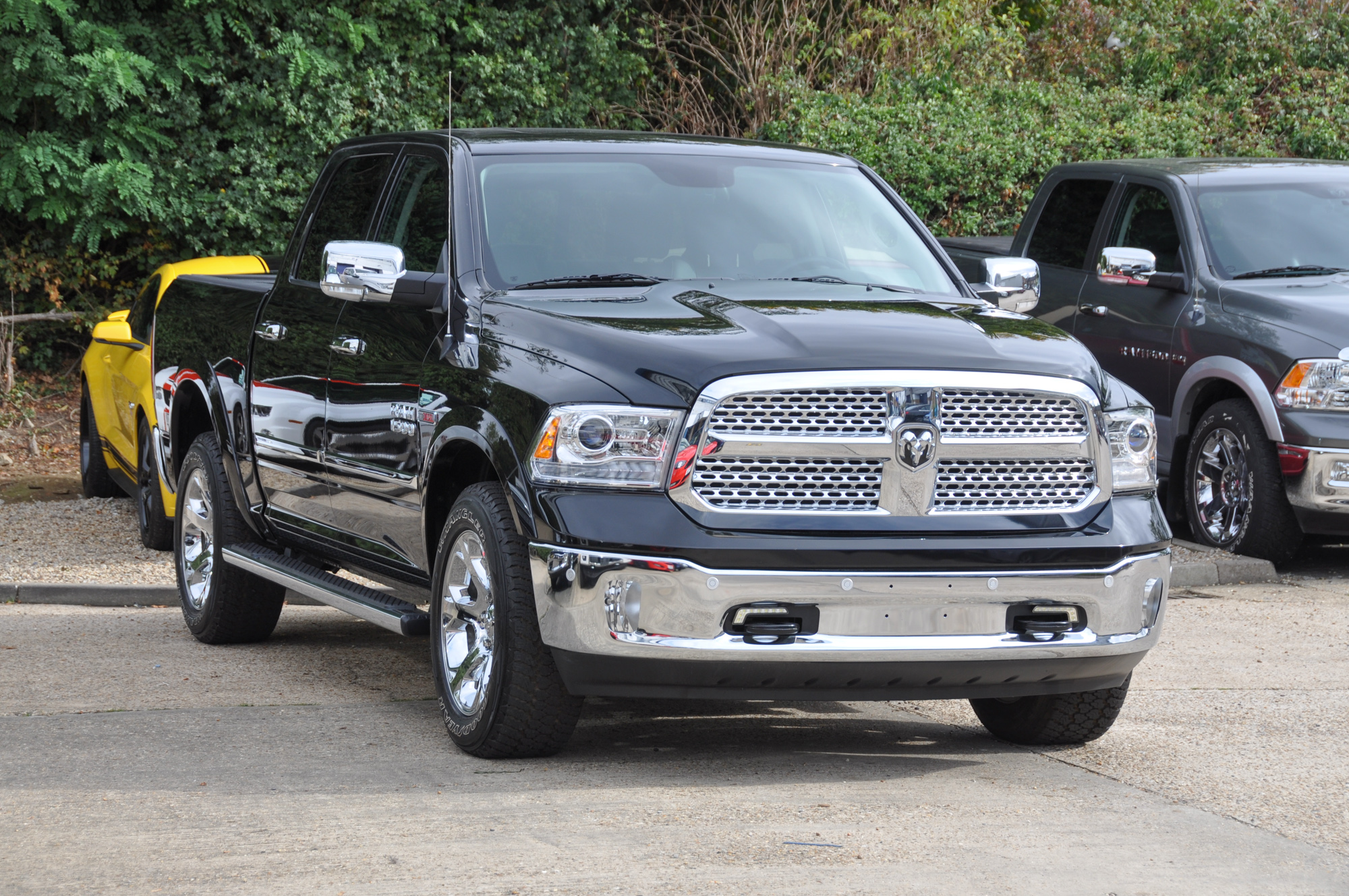 new dodge ram ecodiesel in stock in the uk. Black Bedroom Furniture Sets. Home Design Ideas