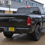 2015 Dodge Ram Crew Sport Custom Wheels - Rear View