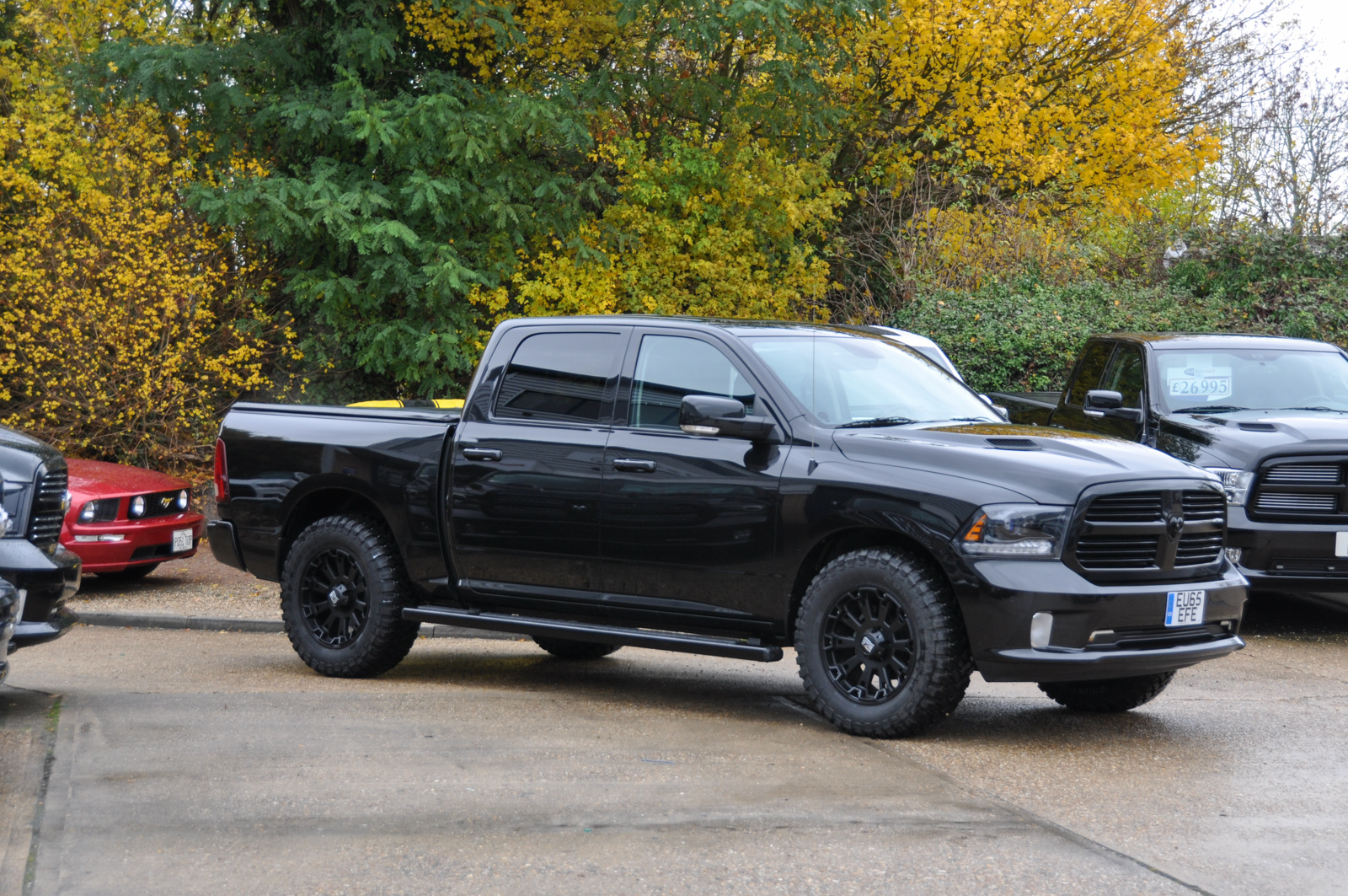 2015 dodge ram crew sport for sale uk no vat. Black Bedroom Furniture Sets. Home Design Ideas