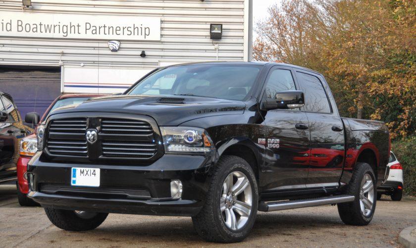 2014 Dodge Ram with Rambox