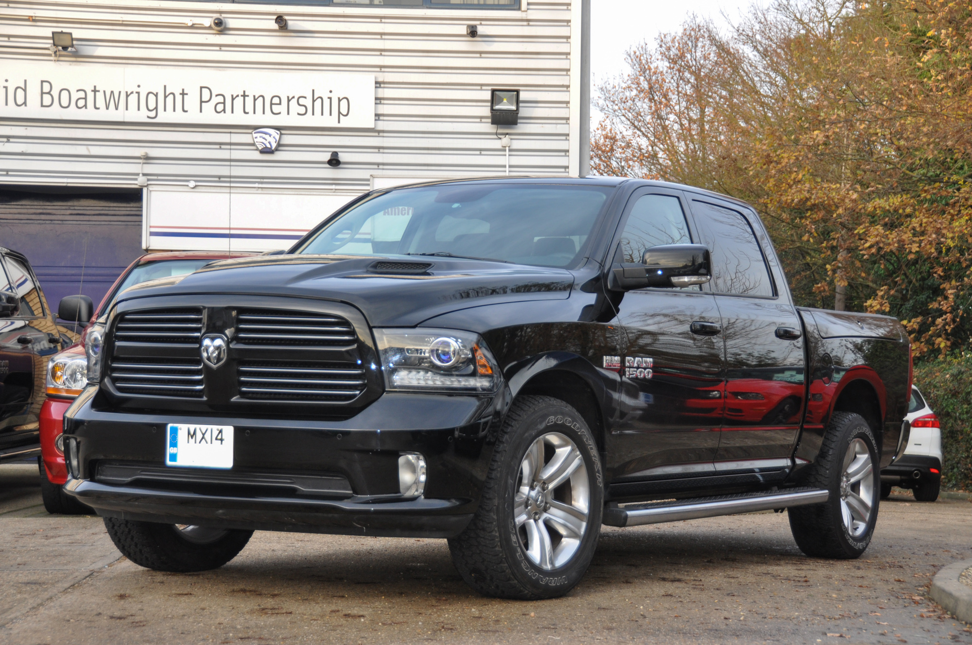 2014 Dodge Ram with Rambox