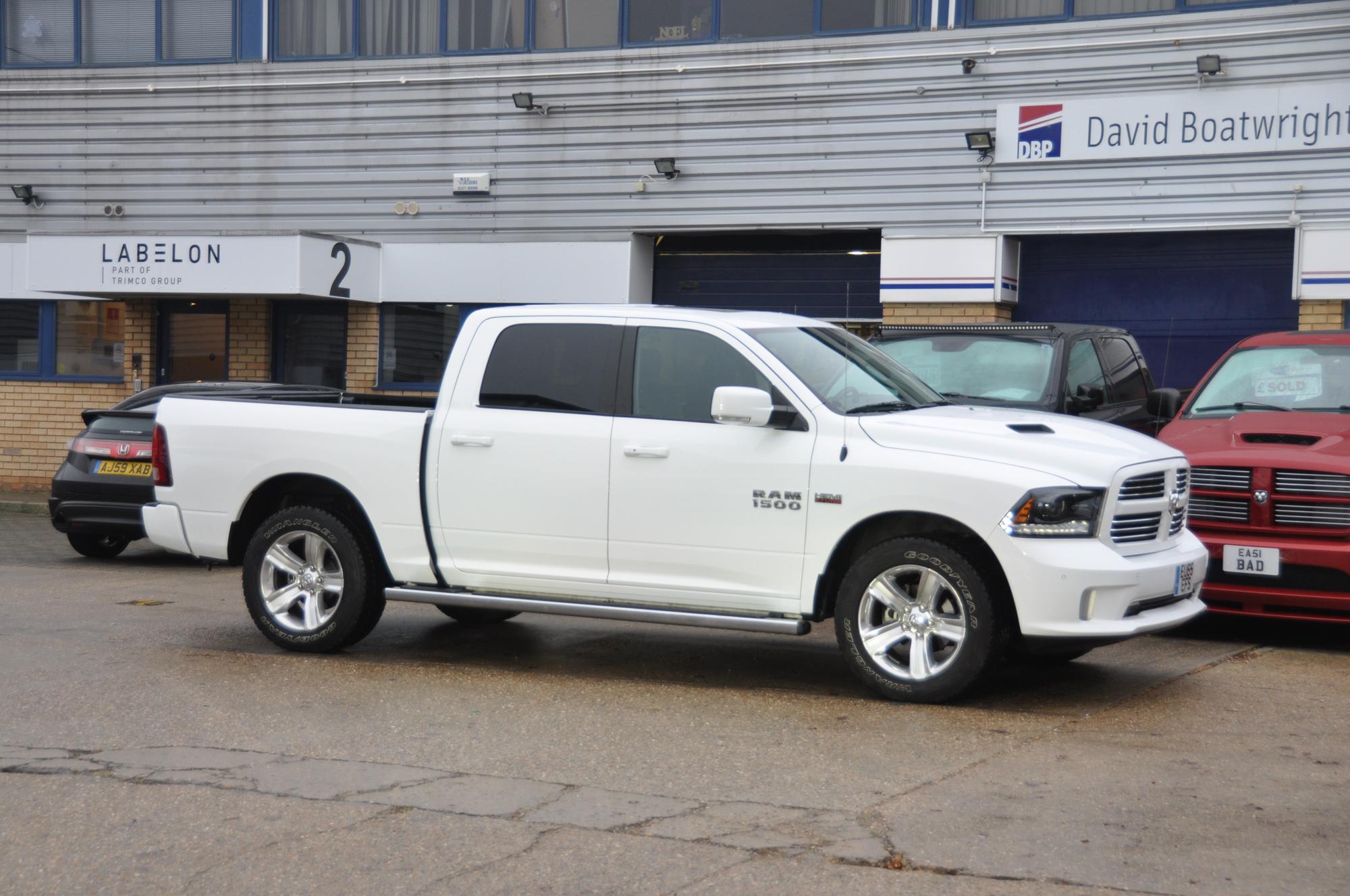 2015 Dodge Ram Crew Sport white