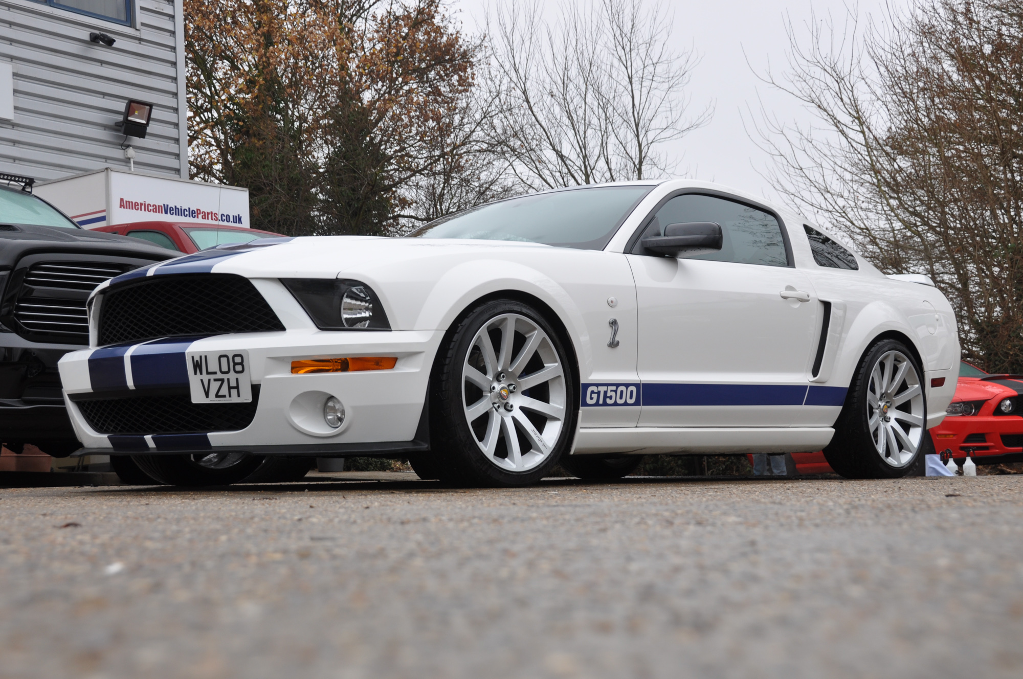 Ford Shelby F150 >> Mustang GT Roush Supercharged Automatic 2008 for sale