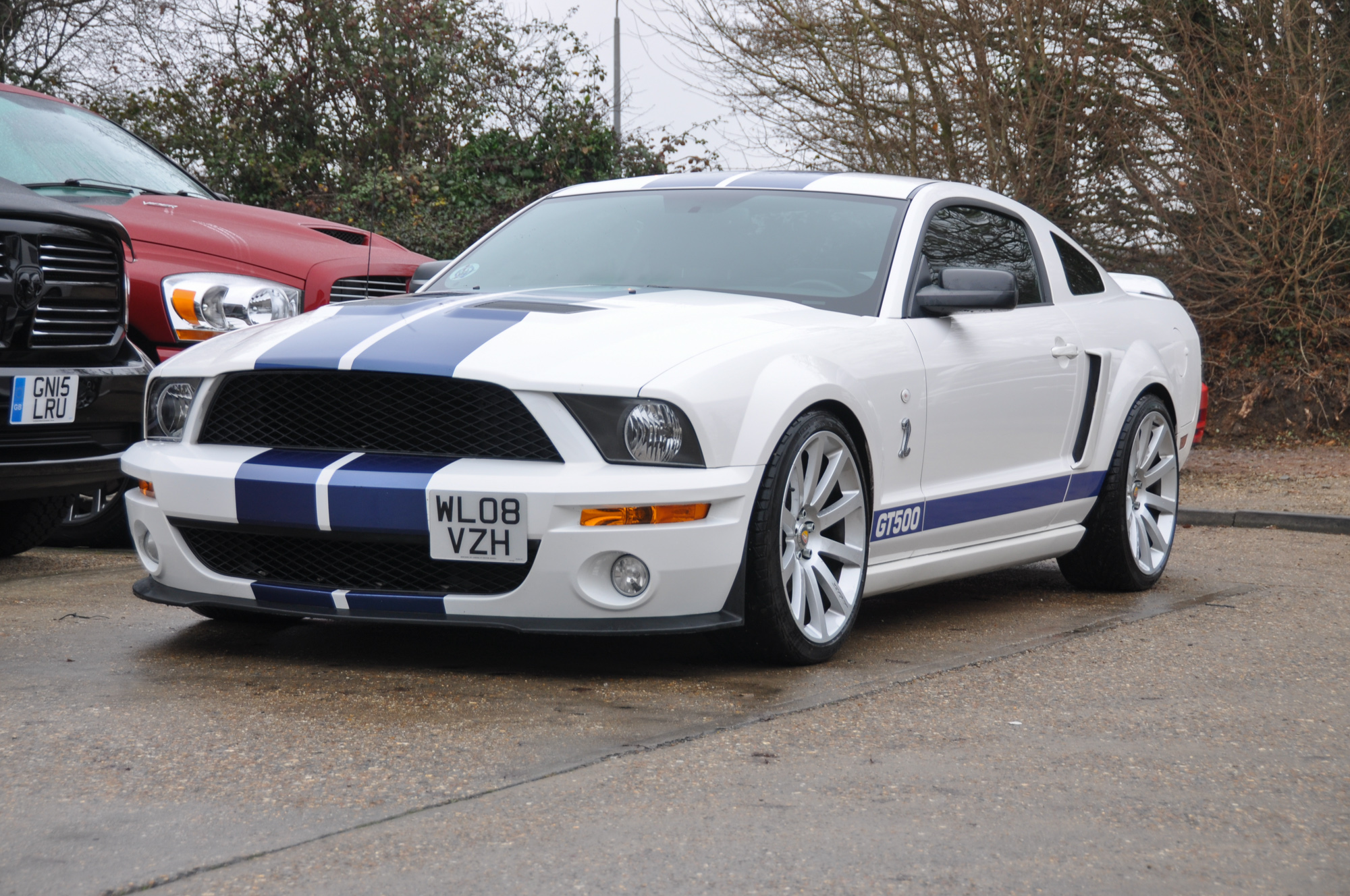 Mustang Gt Roush Supercharged David Boatwright