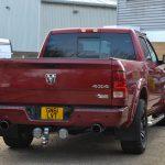 Dodge Ram Rear View