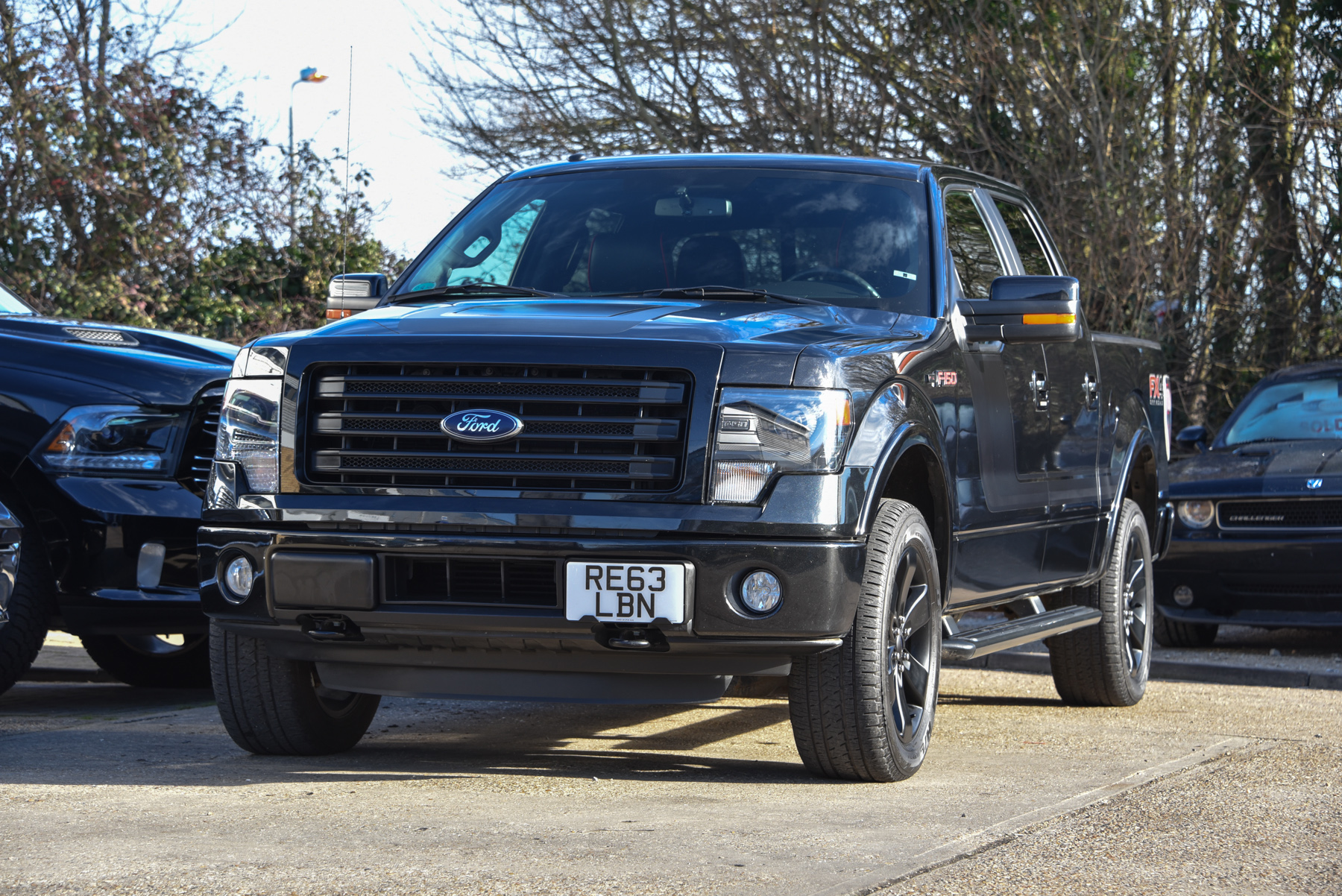 2014 ford f150 fx4 super crew no vat david boatwright partnership dodge ram f 150. Black Bedroom Furniture Sets. Home Design Ideas
