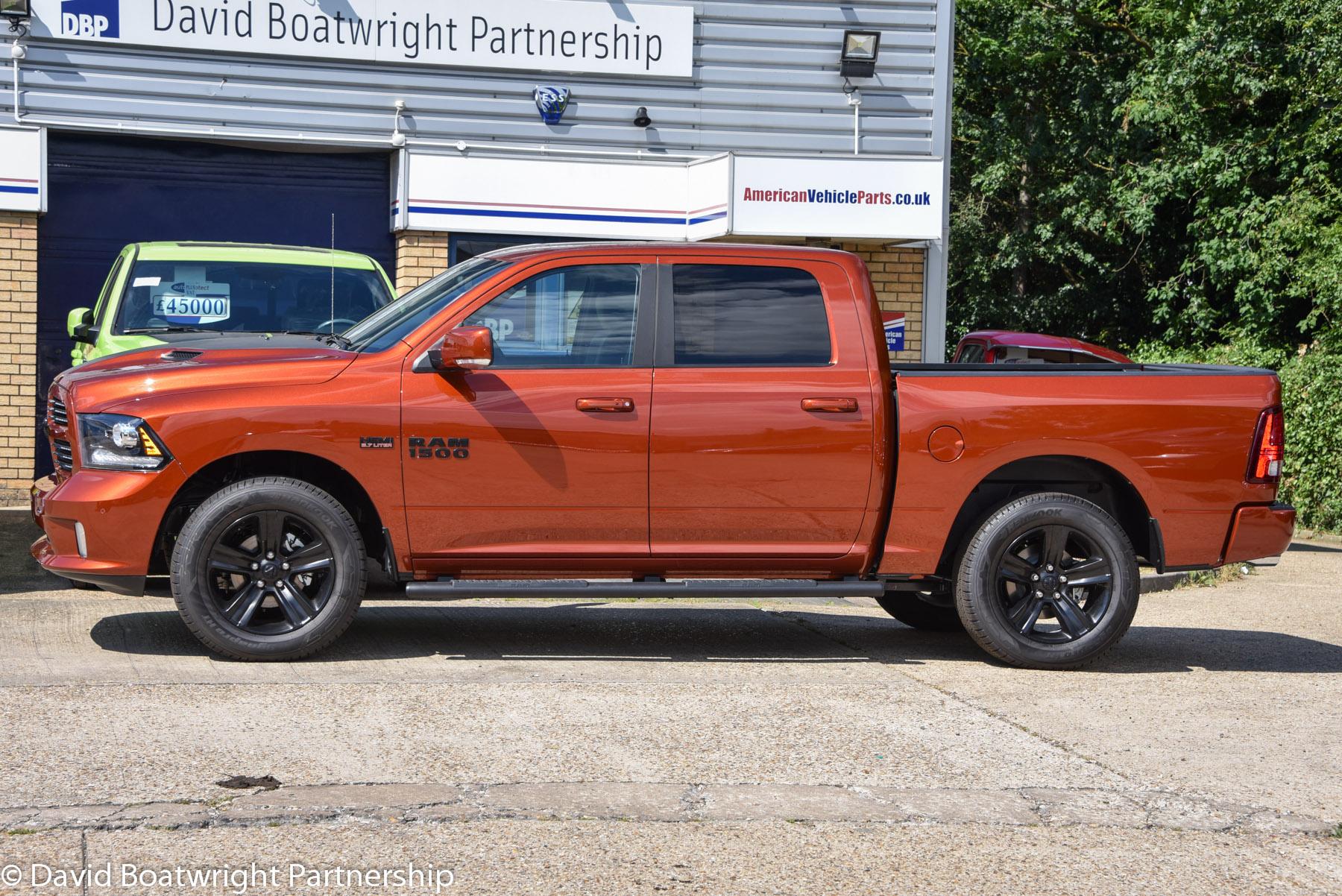 Ram Sport 1500 Copper Edition