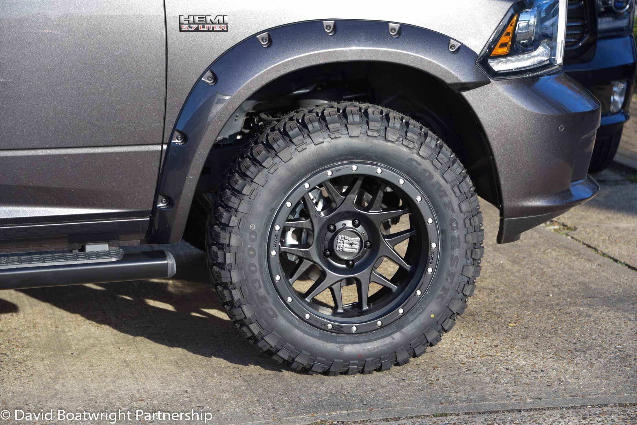 Dodge RAM Custom Quad 2017