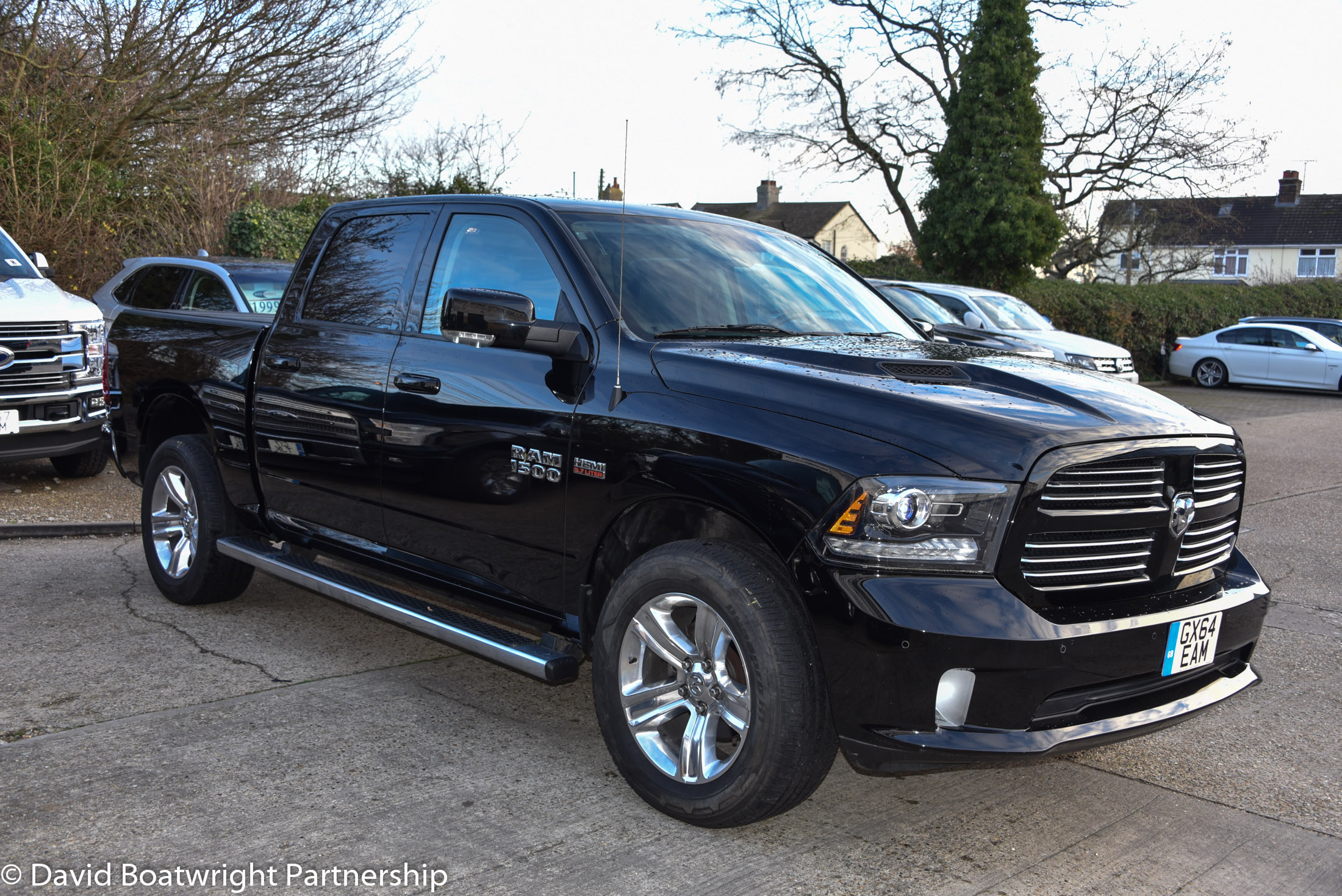 Dodge RAM with Prins LPG for sale UK