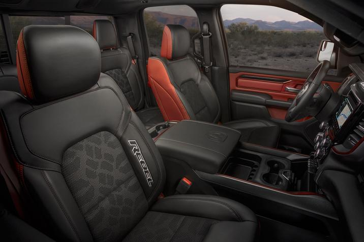2019 Ram Rebel Interior