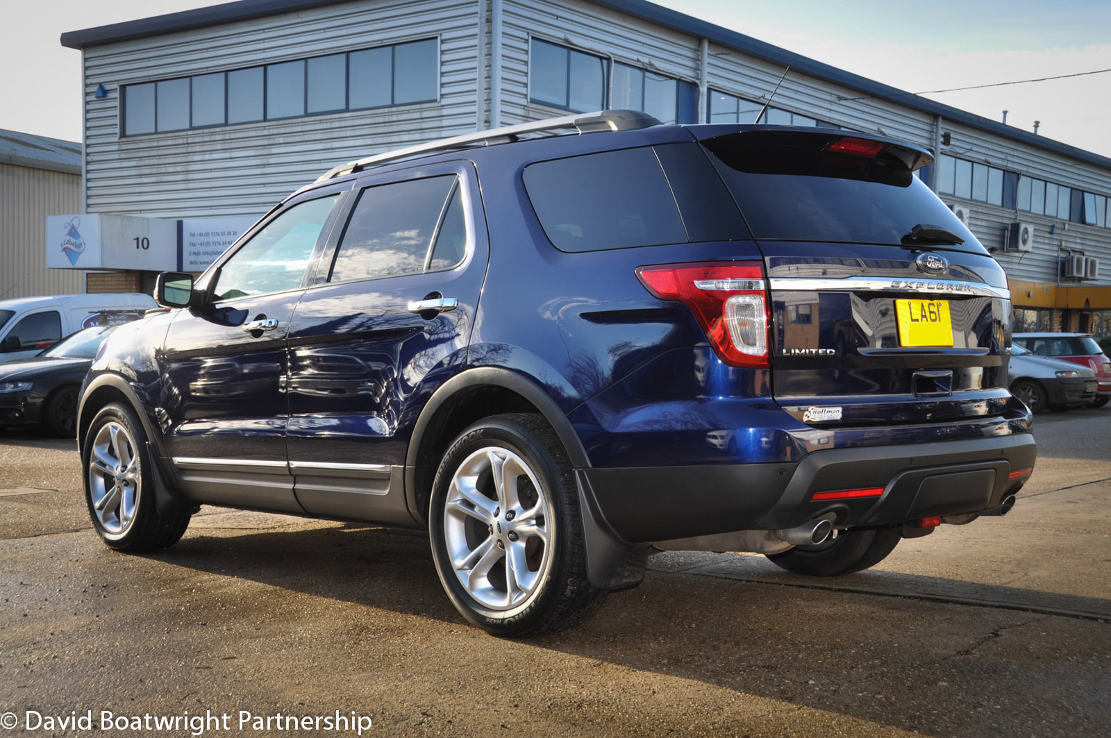 2012 Ford Explorer six seater Limited