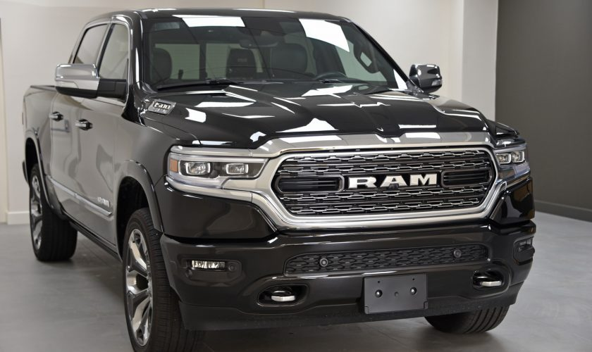 New 2019 RAM Limited in the showroom of David Boatwright