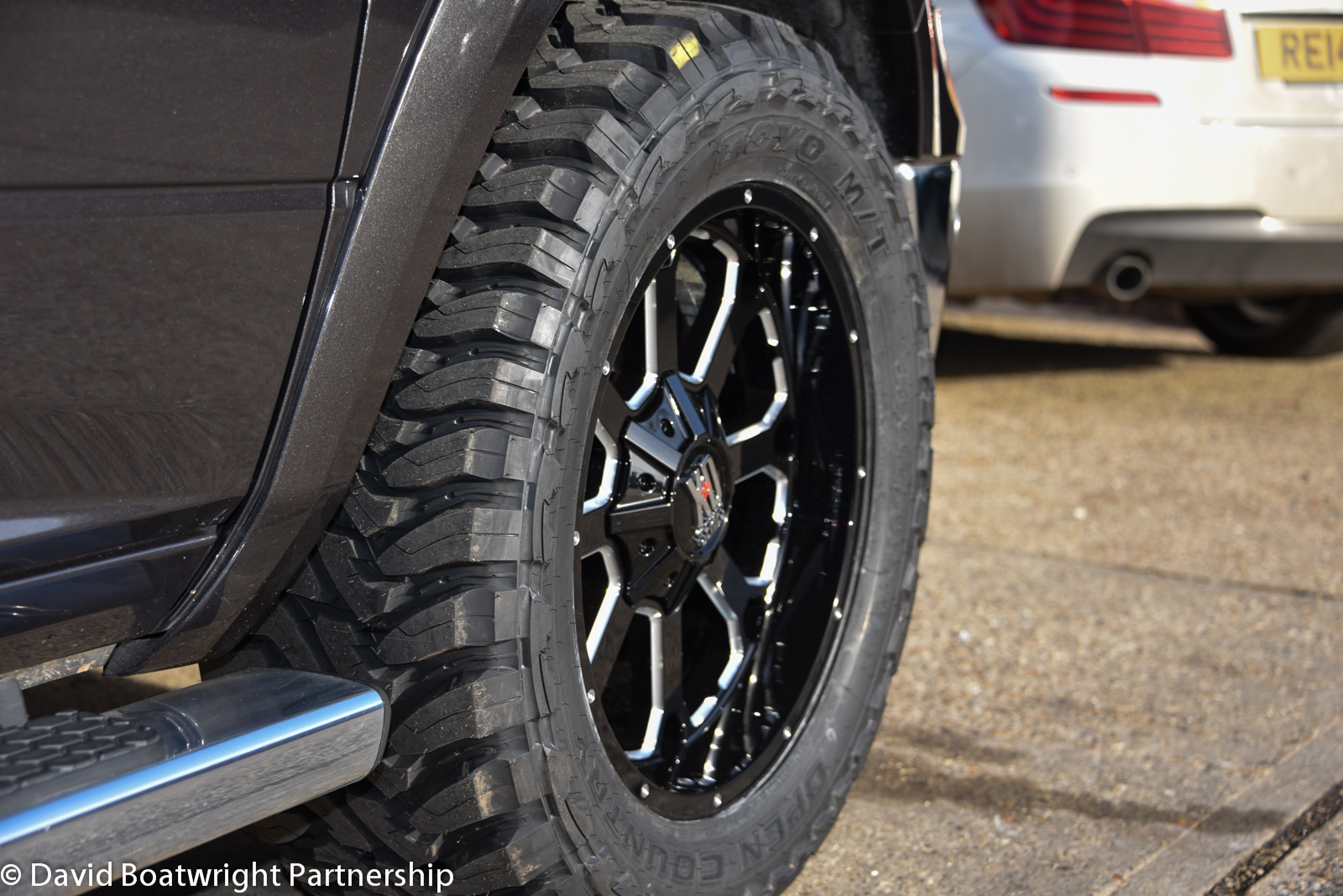 DODGE RAM LPG KMC WHEELS 2015
