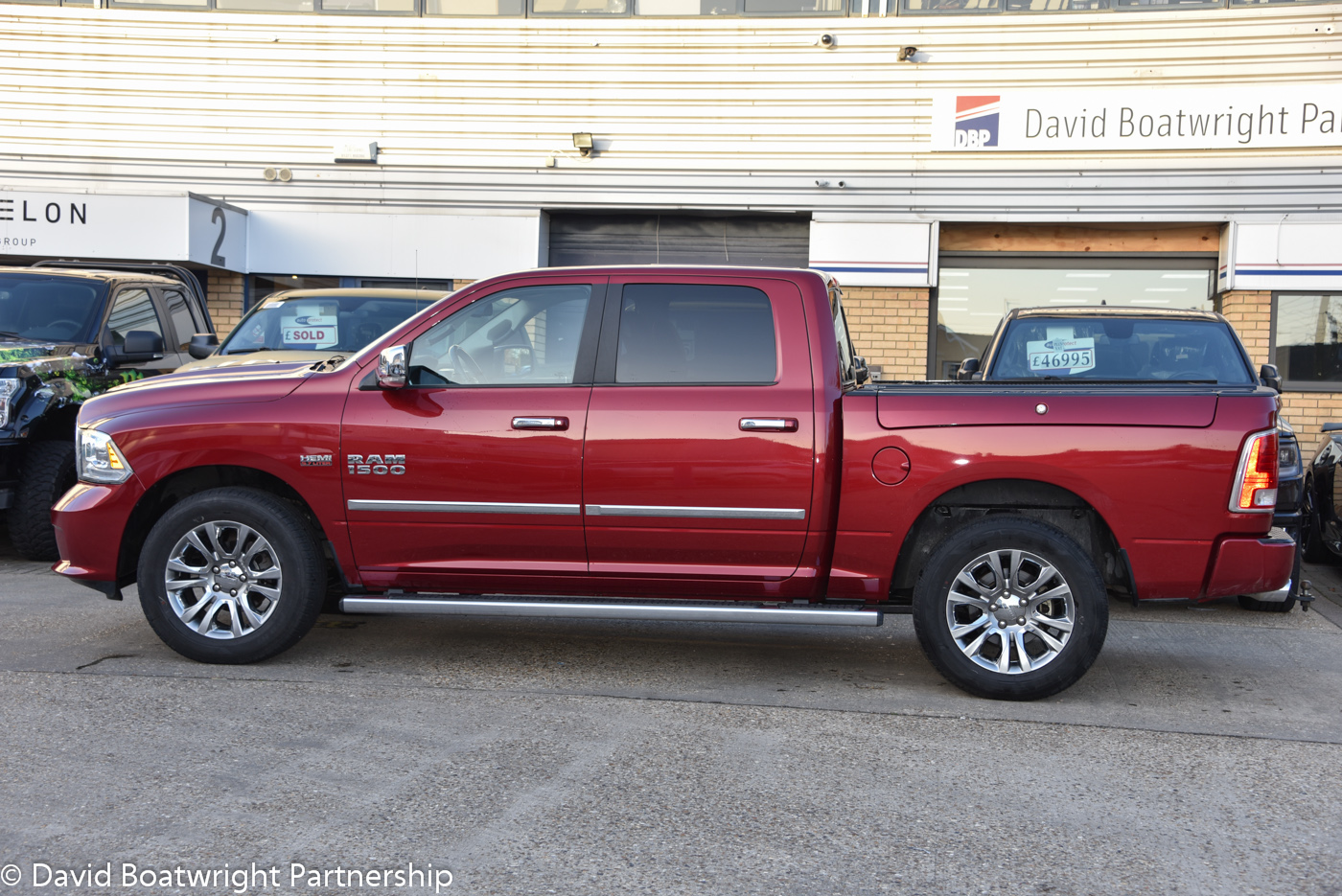 Ram Limited Deep Cherry 2015