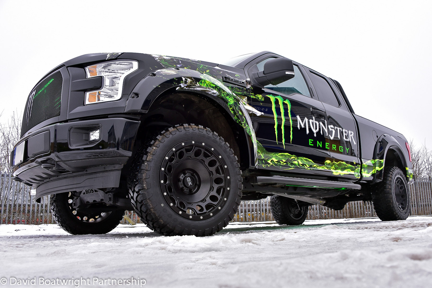 Monster Energy Boatwright F150 Truck