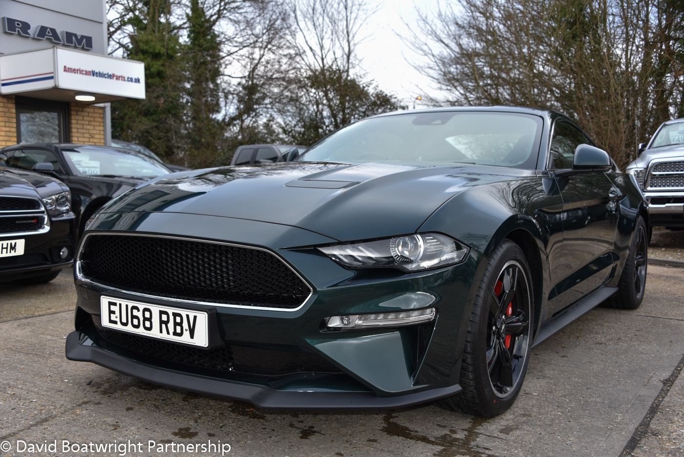 2019 MUSTANG BULLITT UK Right Hand Drive