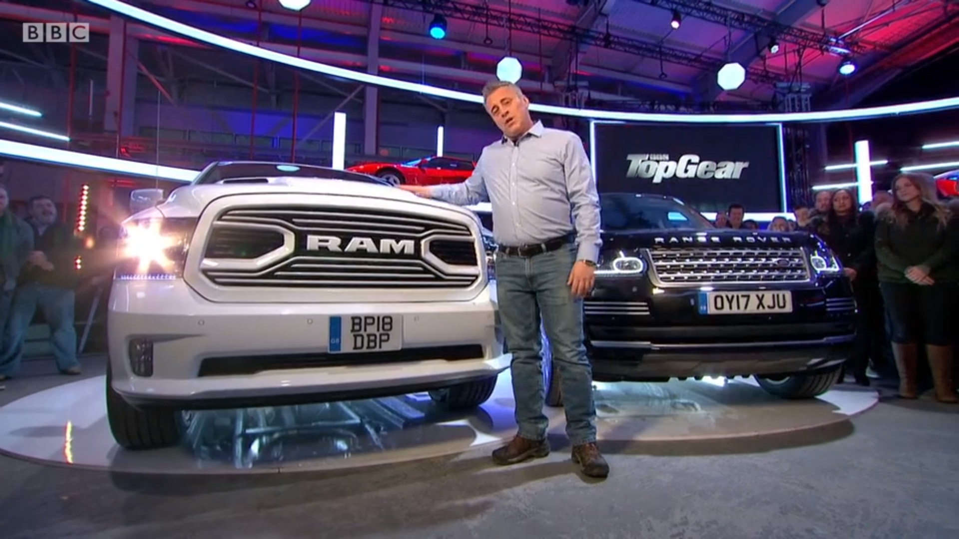 Dodge RAM BBC Top Gear