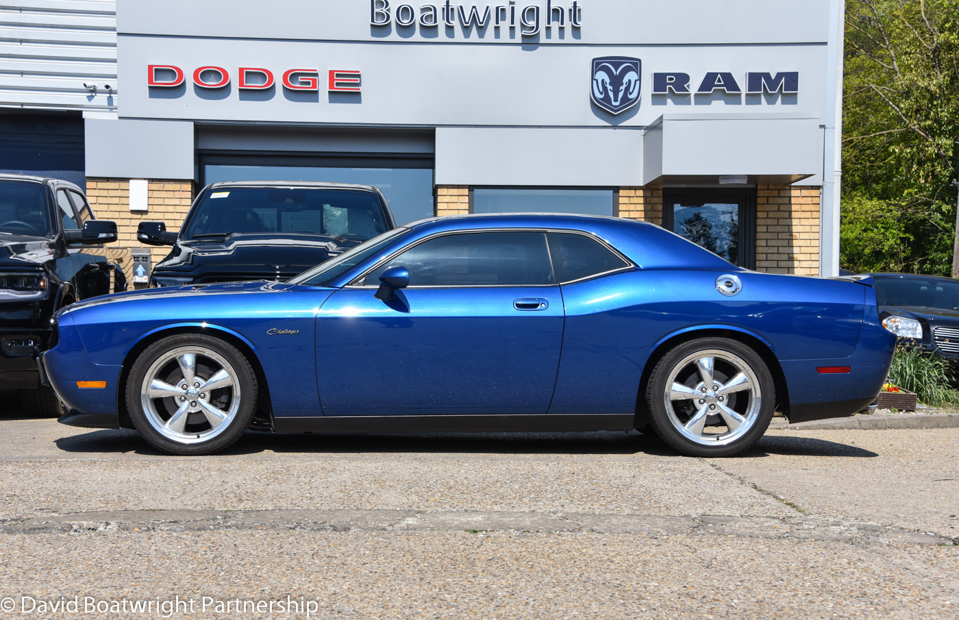 2010 Challenger RT BLUE PERFORMANCE UPGRADES