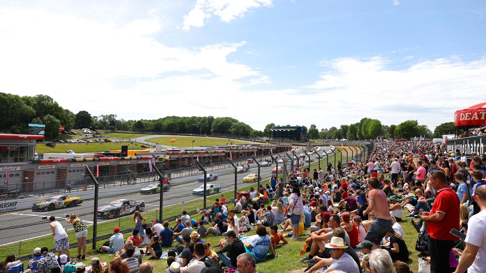 NASCAR Grid Brands Hatch