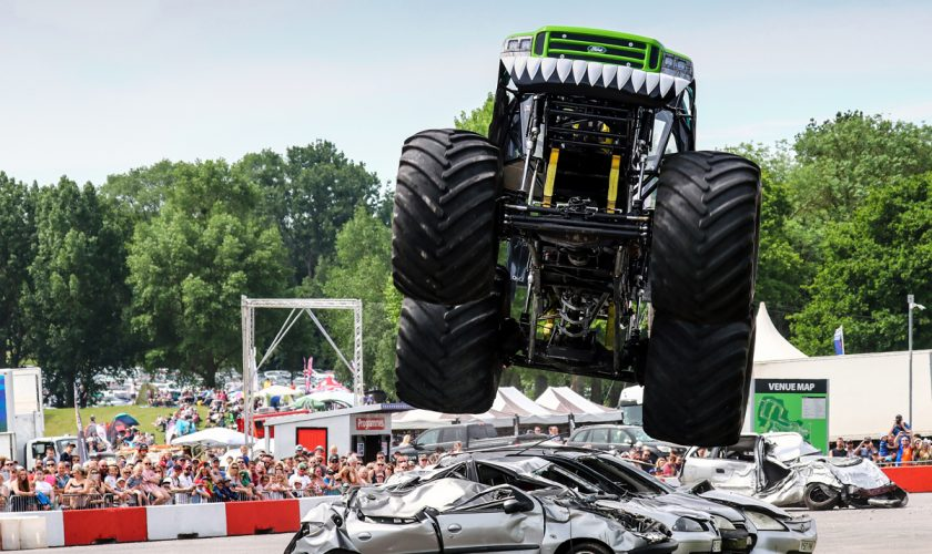 Monster Truck at American Speedfest 2019