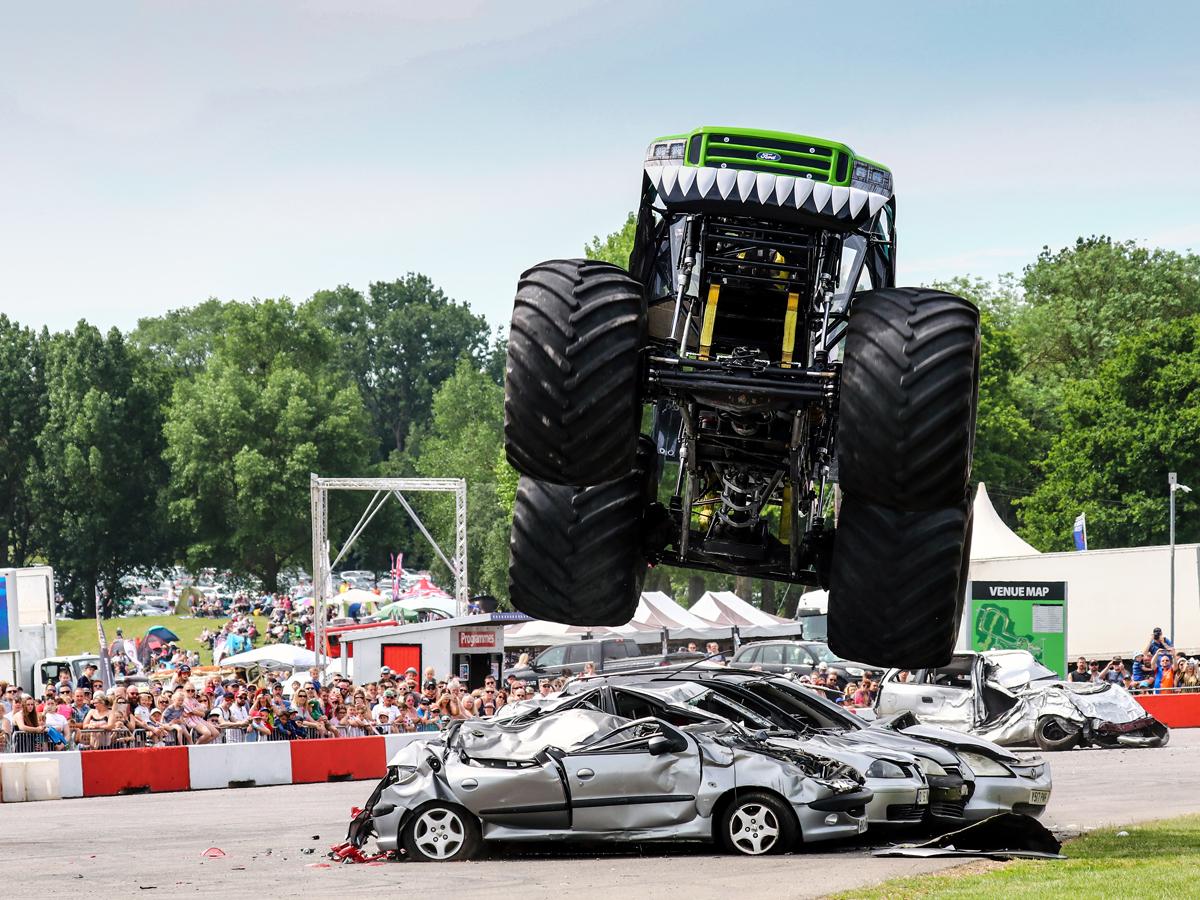 Monster Truck at American Speedfest 2019