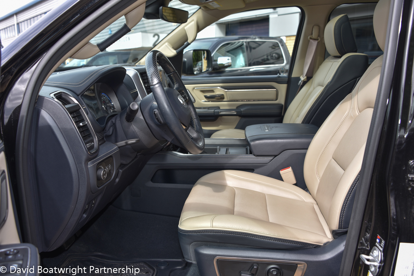 2019 Dodge RAM Limited Light Interior