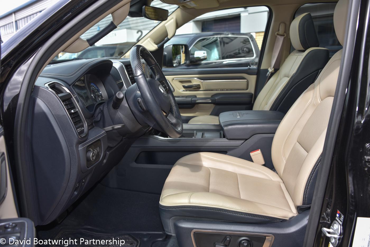 2019 Dodge RAM Limited Light Interior