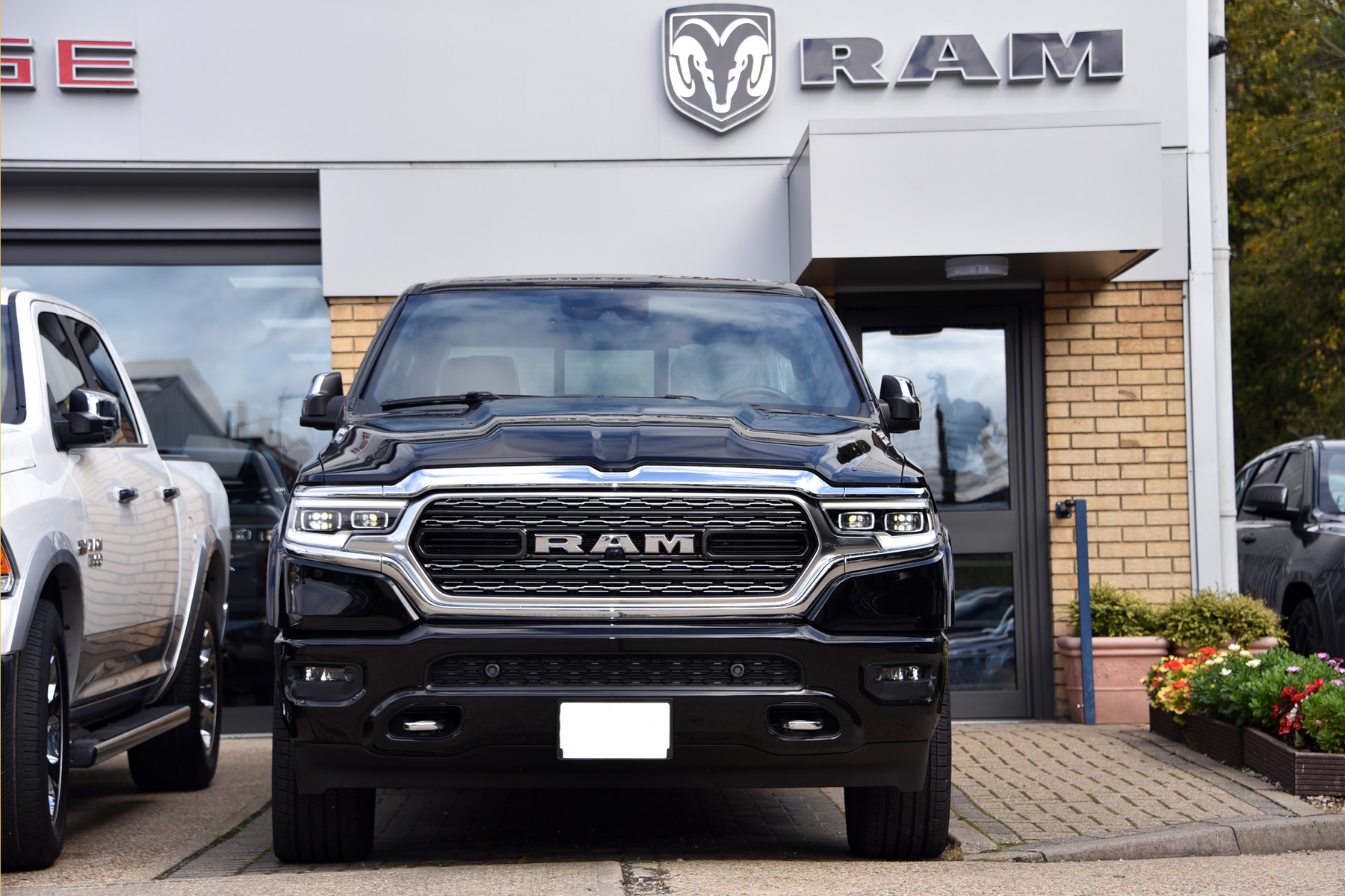 New Dodge Ram Limited Crew Cab Pickup for sale in the UK. All models available. Official Dealers for Dodge and Ram