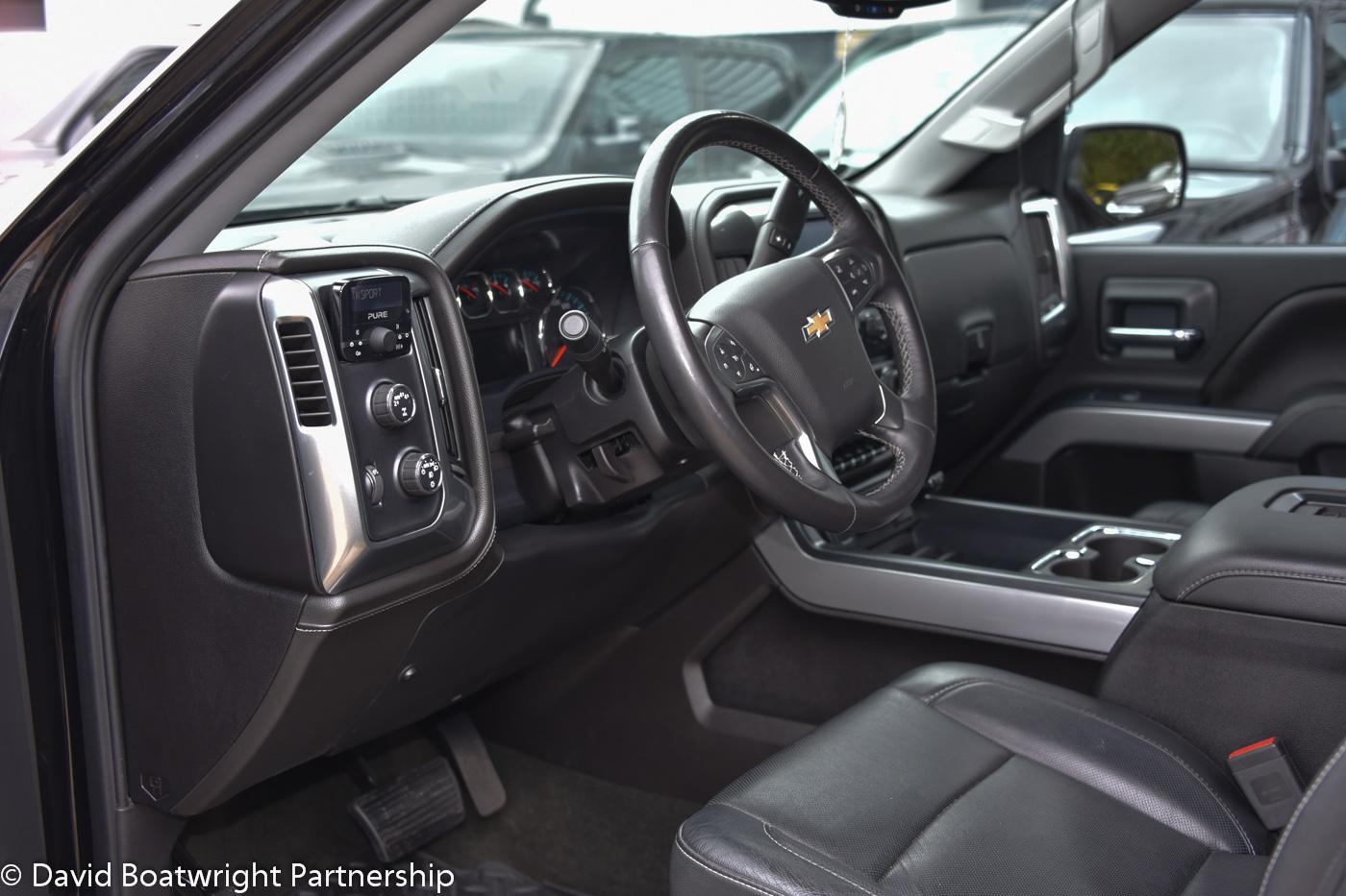 Chevrolet Silverado LTZ 4x4 2016 UK