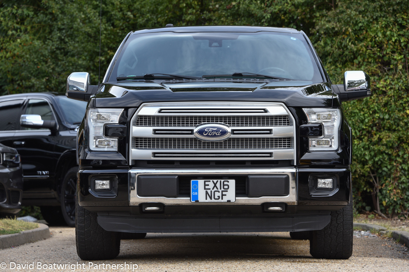 Black F150 Platinum 4x4 Supercrew with Prins LPG