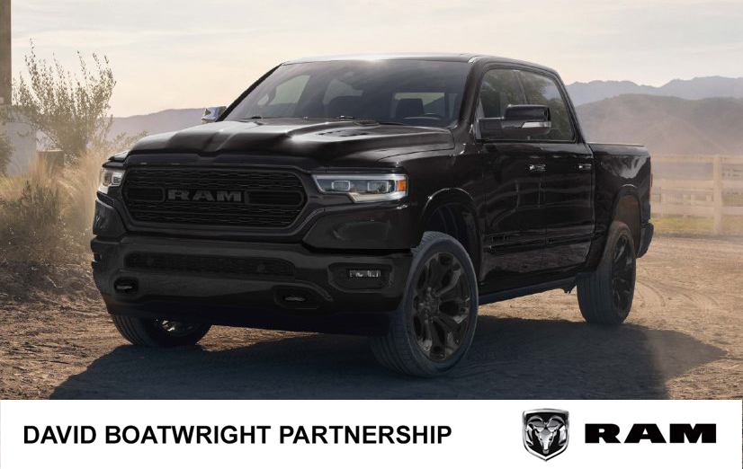 2020 RAM Limited Black Appearance UK