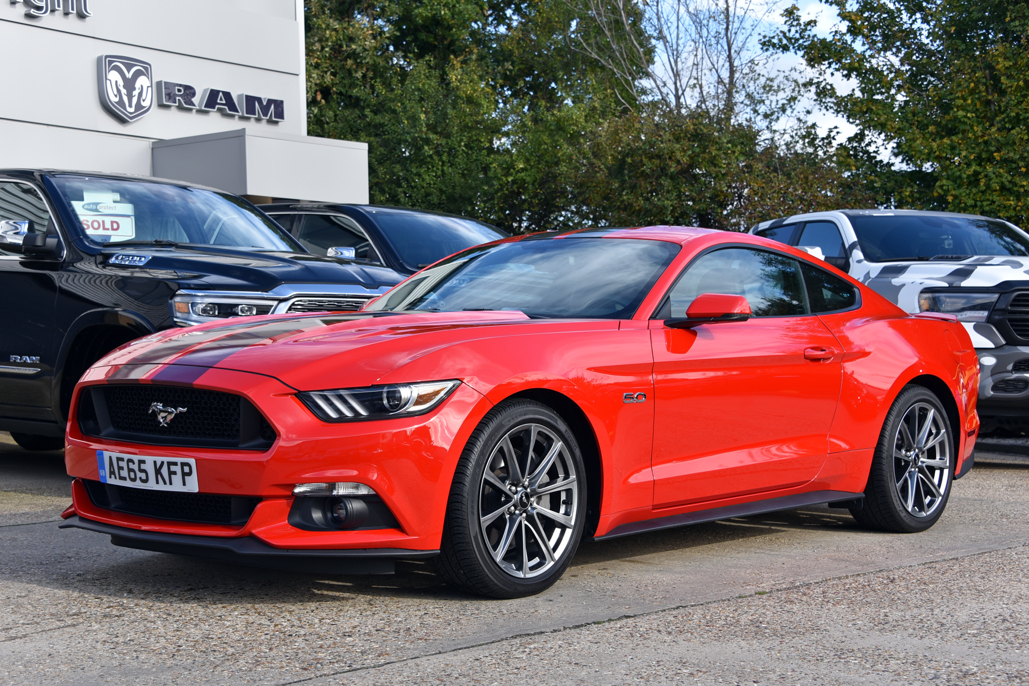 Ford Mustang GT Auto Premium UK