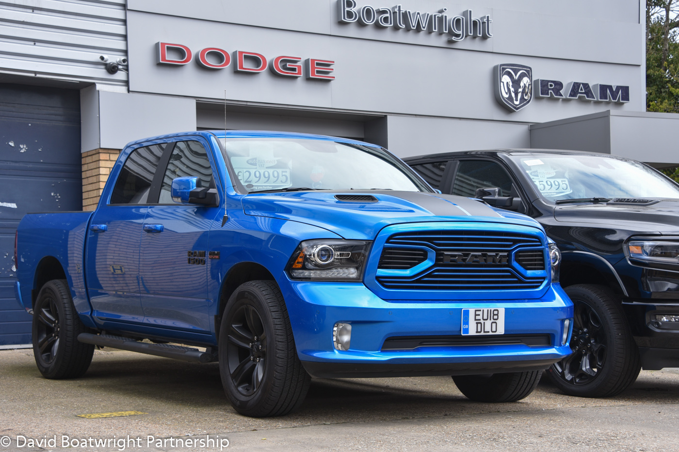 Dodge Ram 2018 HYDRO for sale UK Limited Edition Ram