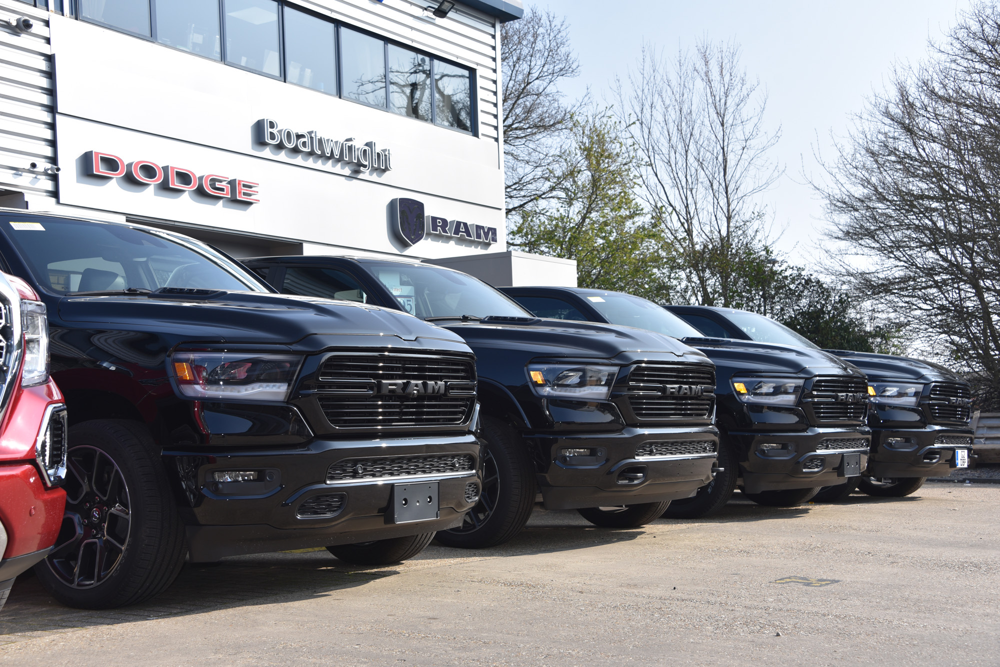 Line up of new Rams