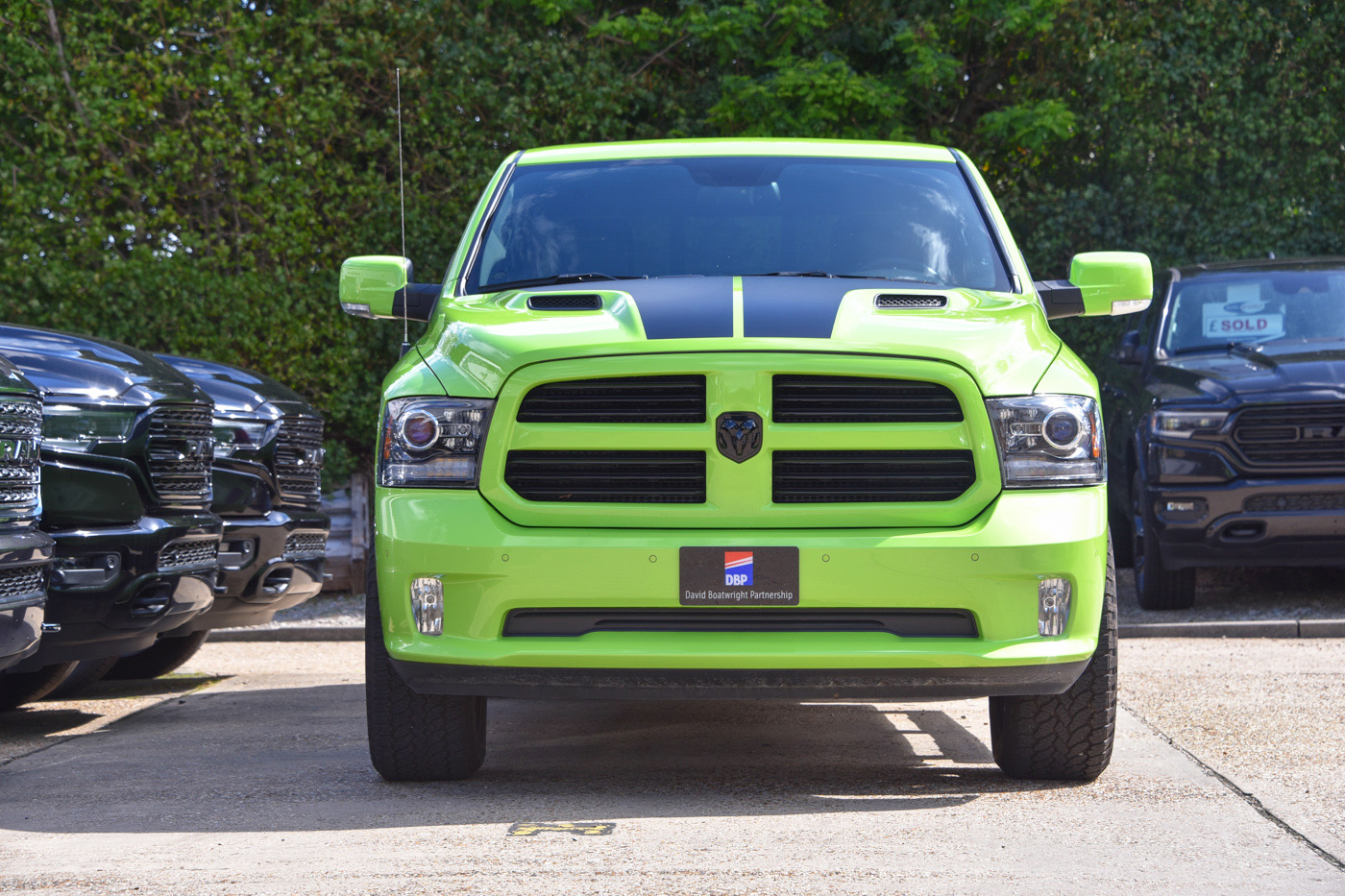 Sublime Green Dodge Ram Sport 4x4 for sale. 2017