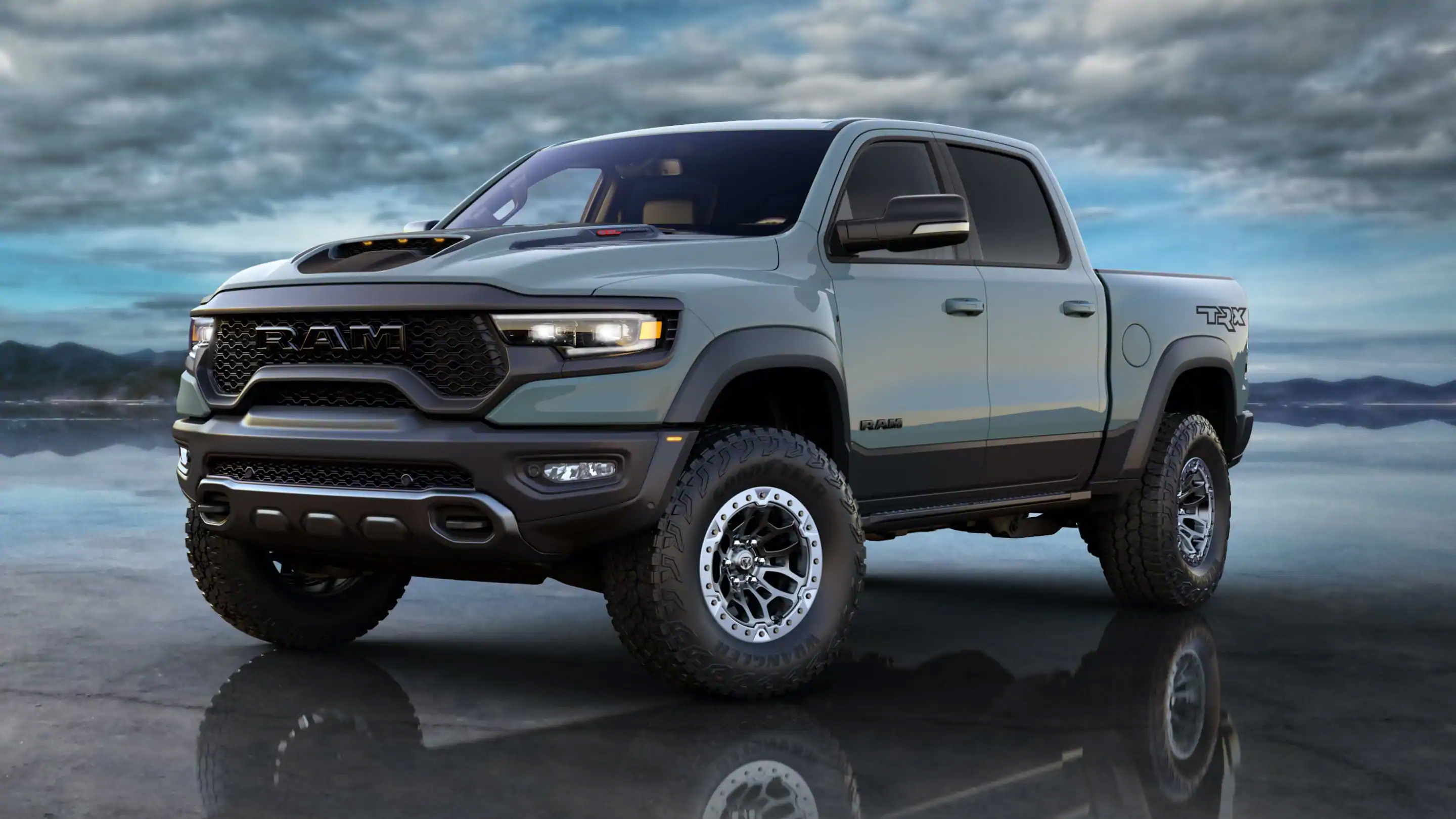 Dodge Ram TRX in Anvil