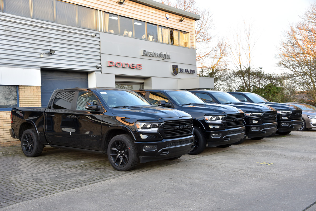 New Ram Pickups for sale in the UK Official Dealer