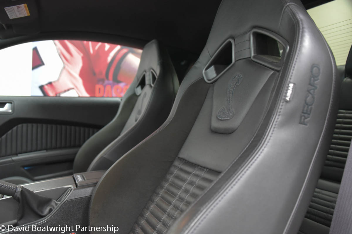 2014 Mustang GT500 Shelby UK 3,000 Miles Interior