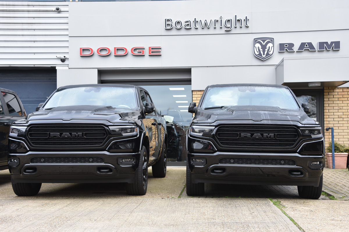 New Ram Limited Night Edition pickup for sale UK