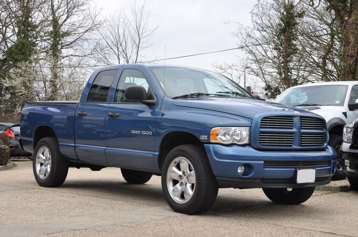 Dodge Ram Blue Quad